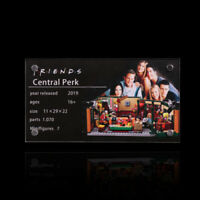 Display plaque for LEGO Central Perk 21319 ( Australia Top Rated Seller)