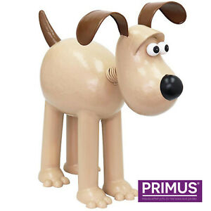 Primus / Aardman Metal (Wallace and) Gromit the Dog Garden Ornament Gift Idea