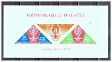 "HAITI: 1962 Mi: HT BL23I ""Fight Against Malaria"" MNH Sheet"