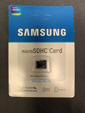32GB MicroSDHC Memory Card Samsung