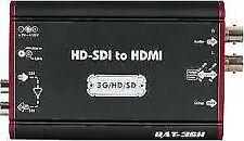 Lumantek - SHJJ27510 Convertisseur BAT-3SH (HD-SDI to HDMI)