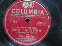 Frank Sinatra Someone To Watch Over Me ~ Paradise Columbia 36921 78 rpm