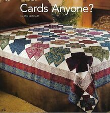 Cards Anyone? Quilt quilting pattern instructions