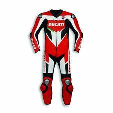 Ducati Motociclo Tuta Cuoio Corsa Ciclista Gli Sport MotoGP Vestito Motocicletta