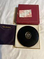 Elgin American Powder Compact Makeup with Powder Pad Vintage Chic Original Box