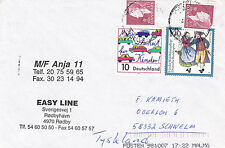DANISH FERRY MF ANJA II A SHIPS CACHED COVER