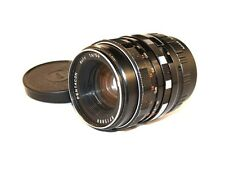 50 mm  f : 1.8  PENTACON auto  Mount: M42 + Adapter M42 - FX  Fujifilm