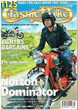 Classic Bike July 2004 Dominator Tiger 110 Bonneville Guzzi Falcone 80s classics