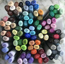 ⭐️NEW⭐️ Copic Sketch 🌈 Markers💥Lot of 95💥NO DUPLICATES ✔️ Made in Japan 🇯🇵