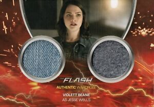 The Flash Season 2, Jesse Wells Dual Wardrobe Card DM2