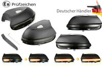 2x Dynamische Spiegelblinker Blinker f. VW EOS Passat B7 VW Jetta 4 CC Beetle 5C