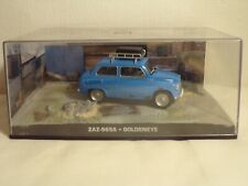 JAMES BOND Car Collection - ZAZ-965A - GOLDENEYE