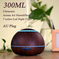 GX.Diffusers LED Ultrasonic Aroma Diffuser Humidifier Air Mist Humidifiers 300ML
