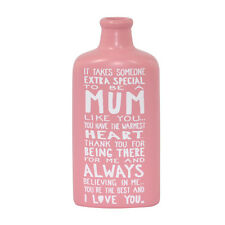 """Special Mum Message On A Bottle Gift Small 5"""" Tall Bottle Lovely Gift Idea"""