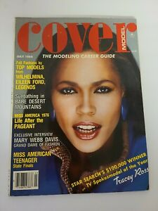 Vintage COVER MODEL Magazine - The Modeling Career Guide July 1984 RARE FASHION