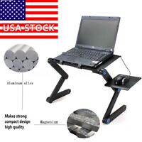 360° Adjustable Foldable Laptop Notebook PC Desk Table Stand Portable Bed Tray