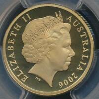 Australia, 2006 One Dollar, $1, Elizabeth II - PCGS PR68DCAM (Proof)