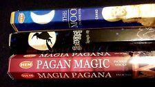 WITCH Bewitching Moon Pagan Magic 60 Incense Sticks Sampler Gift Set HALLOWEEN