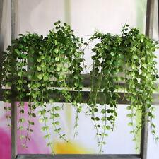 Plastic Green Artificial Plant Foliage Vine Home Party Desk Decorative