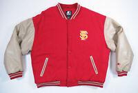 Florida State Seminoles FSU Starter NCAA Football Quilted Wool Blend Jacket XL