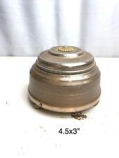 1920s - 30's Vintage Powder Puff Music Box - Ornate Top- Music Works