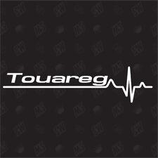 Touareg Herzschlag -  Sticker kompatibel mit VW, I love my, Herzlinie, Speedwerk