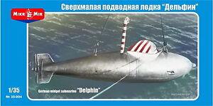 Mikro Mir 35-005 1/35 Delphin-1 German Midget Submarine Clear BLACK FRIDAY