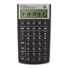 Hp 10bII+ Financial Calculator 12-Digit LCD 2716570