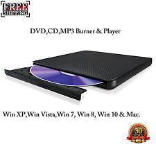 LG Ultra Slim. Laptop,PCs DVD CD Writer DVD±RW/CD-RW External Drive.USB-2.0/3.0