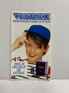 Catalogue French Antique Leaflet On La Range Vectrex MB Console And Games