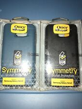 Lot Of 2pcs OtterBox Symmetry Case for Samsung Galaxy Note 5 -Black & Blue-