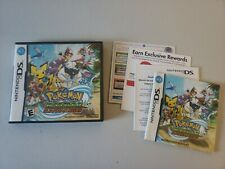 Pokemon Ranger Guardian Signs Nintendo DS CASE AND MANUAL ONLY Authentic No Game