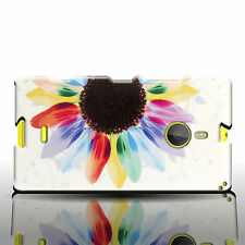 For Nokia Lumia 1520 Floral Design Phone Case - Sunflower