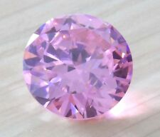 7mm Unheated 2.02ct AAAAA Pale Pink Sapphire Diamonds Cut Round VVS Loose Gems