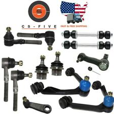 HD Ball joint Control Arm Tie Rod Front End Kit fits Ford F150 4x4 1997 - 2003