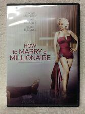 How to Marry a Millionaire (DVD, 2004, Marilyn Monroe Diamond Collection; Sensor