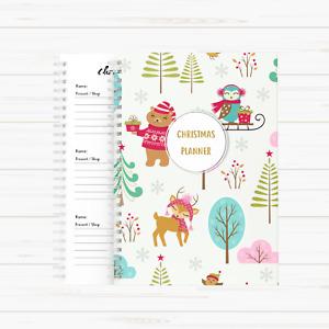 Christmas Planner Christmas Organiser Christmas Planner Book - Winter Wonderland