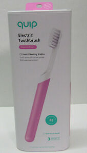 Quip Electric Toothbrush Magenta Plastic Electric Brush Travel Cover New