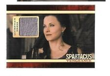 Lucy Lawless Lucretia's dress costume relic card Spartacus Vengeance