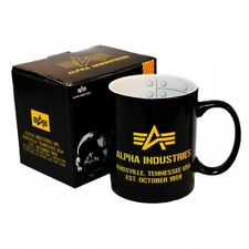 Alpha Industries Coffee Mug Porcelain Coffee Pott printed inside and outside new