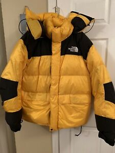The North Face Gore Dryloft Puffer Jacket, Yellow and  Black, Size XL