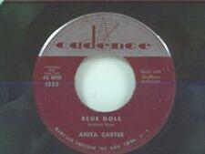 "ANITA CARTER ""BLUE DOLL / GO AWAY JOHNNIE"" 45"