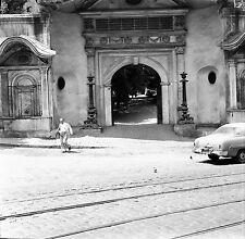 TURQUIE c. 1960 - Auto  Porte d'Honneur Istanbul - Négatif 6 x 6 - Tur 58