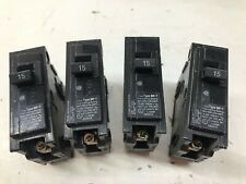 Set of Four Murray Circuit Breakers Mp115  / 1 Pole 15 Amp 120 Volt Mp-T