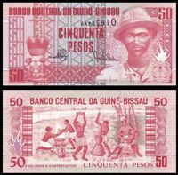 GUINEA BISSAU 50 Pesos, 1990, P-10, UNC World Currency