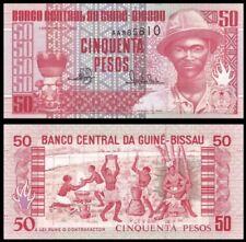 GUINEA BISSAU 50 Pesos, 1990, P-10, UNC World Currency