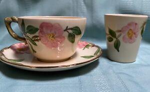 Franciscan Desert Rose Large Cup/Saucer & Tumbler