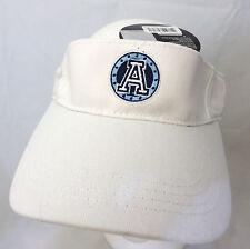 CFL Toronto Argonauts football VISOR cap hat  adjustable v white