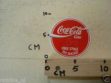 STICKER,DECAL SKI COCA-COLA COKE FREE-STYLE SKI SHOW