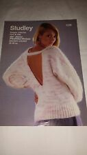 Vintage/Retro Knitting Pattern Studley  Jumper 1239